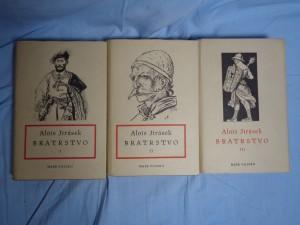 náhled knihy - Bratrstvo díly I až III
