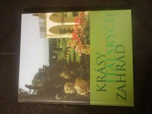náhled knihy - Krásy italských zahrad