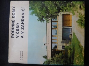 náhled knihy - Rodinné domy v ČSSR a v zahraničí