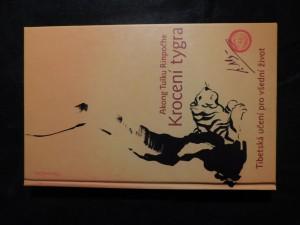 náhled knihy - Krocení tygra : tibetská učení pro všední život