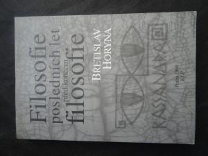 náhled knihy - Filosofie posledních let před koncem filosofie : kapitoly ze současné německé filosofie