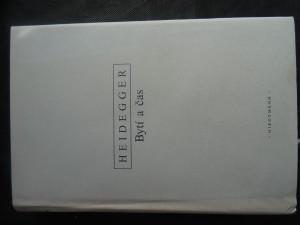 náhled knihy - Bytí a čas