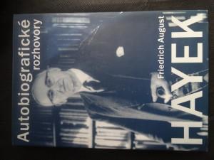 náhled knihy - Friedrich August Hayek : autobiografické rozhovory