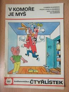 náhled knihy - V komoře je myš : knihovnička čtyřlístek č. 162