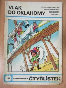 náhled knihy - Vlak do Oklahomy : knihovnička Čtyřlístek č. 158