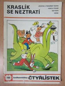 náhled knihy - Kraslík se neztratí : knihovnička čtyřlístek č. 150