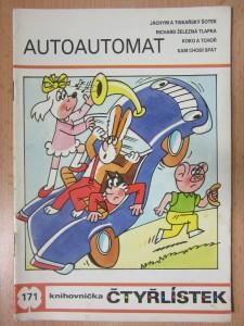 náhled knihy - Autoautomat : knihovnička čtyřlístek č. 171