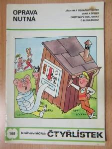 náhled knihy - Oprava nutná : knihovnička čtyřlístek č. 168