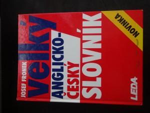 náhled knihy - Velký anglicko-český slovník  English-Czech dictionary