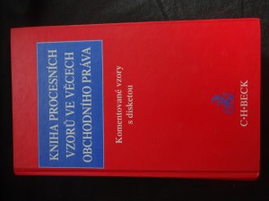 náhled knihy - Kniha procesních vzorů ve věcech obchodního práva