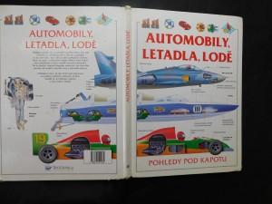 náhled knihy - Automobily, letadla, lodě : pohledy pod kapotu