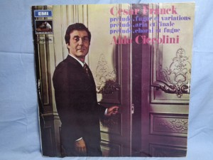 náhled knihy - César Franck, Aldo Ciccolini – Prélude, Fugue Et Variations / Prélude, Aria Et Finale / Prélude, Choral Et Fugue