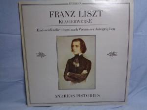náhled knihy - Franz Liszt, Andreas Pistorius – Klavierwerke (Erstveröffentlichungen Nach Weimarer Autographen)