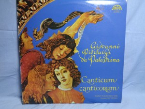 náhled knihy - Giovanni Pierluigi da Palestrina – Canticum Canticorum