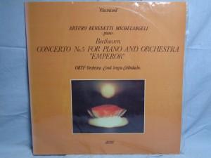 náhled knihy - Beethoven* - Arturo Benedetti Michelangeli - Piano - ORTF Orchestra* · Cond. Sergiu Celibidache – Concerto No.5 For Piano And Orchestra