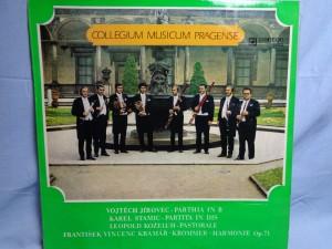 náhled knihy - Collegium Musicum Pragense – Parthia In B / Partita In Dis / Pastorale / Harmonie Op. 71
