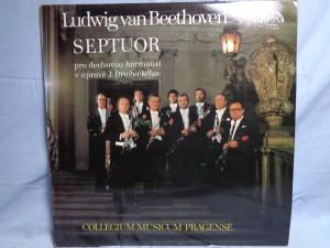 náhled knihy - Ludwig van Beethoven - Collegium Musicum Pragense – Septuor