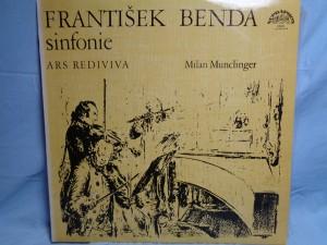 náhled knihy - František Benda, Milan Munclinger, Ars Rediviva Ensemble – Cinq Sinfonias