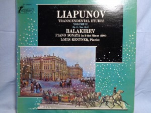 náhled knihy - Liapunov* / Balakirev* - Louis Kentner – Transcendental Etudes, Volume II (Op. 11, Nos. 10-12) / Piano Sonata In B-flat Minor