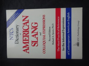 náhled knihy - NTC's dictionary of American slang and colloquial expressions