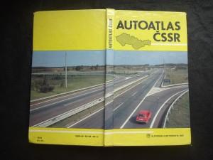 náhled knihy - Autoatlas ČSSR