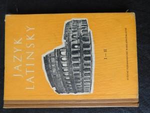 náhled knihy - Jazyk latinský : cvičebnice pro střední všeobecně vzdělávací školu 1.a 2. [roč.]