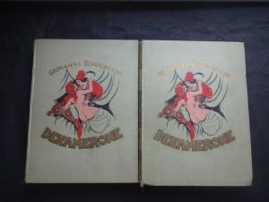 náhled knihy - Dekamerone : (výbor nejkrásnějších povídek) I,II