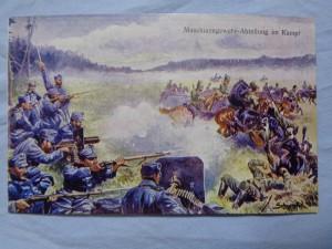 náhled knihy - Maschinengewehr-Abteilung in Kampf