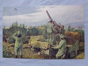 náhled knihy - Weltkrieg 1914 - 1916. Flieger-Abwehrkanone an der Isonzofront.
