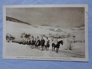 náhled knihy - Weltkrieg 1914-1915. Husaren-Aufklärungspatrouille in den Karpathen.