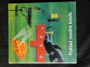 náhled knihy - Poklad modré koule