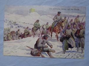 náhled knihy - Die serbische Armee auf der Flucht