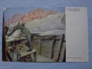 náhled knihy - Beobachterposten in den Dalamiten
