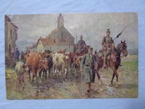 náhled knihy - Wohlfahrtskarte zum Besten der Deutschen Kriegsblindenstiftung für Landheer und Flotte, Berlin.