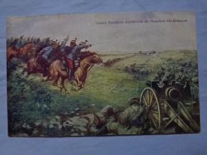 náhled knihy - Unsere Kavallerie durchbricht die Feuerlinie bei Komarow