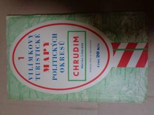 náhled knihy - Vilímkovy Turistické mapy politických okresů 1 Chrudim