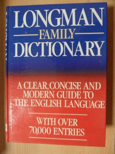 náhled knihy - Longman family dictionary : a clear, concise and modern guide to the English language : with over 70000 Entrie