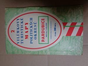 náhled knihy - Vilímkovy Turistické mapy politických okresů 2 Pardubice