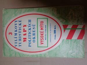 náhled knihy - Vilímkovy Turistické mapy politických okresů 3 Vysoké Mýto