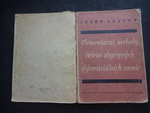náhled knihy - Elementární metody řešení obyčejných diferenciálních rovnic : Určeno ... pro posluchače technik a pro techniky v praxi