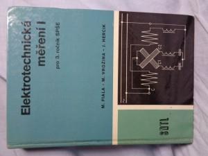 náhled knihy - Elektrotechnická měření 1 : učební text pro 3. roč. SPŠ [stř. prům. škola] elektrotechn.