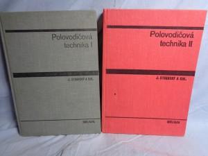 náhled knihy - Polovodičová technika : učebnice pro elektrotechnické fakulty. 1. a 2. díl