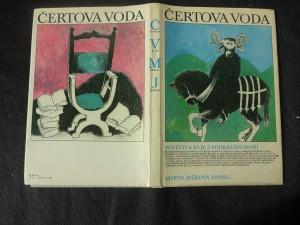 náhled knihy - Čertova voda : pověsti a báje z Podkrušnohoří