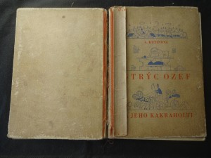 náhled knihy - Strýc Ozef a jeho kakraholti