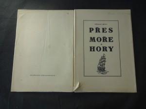 náhled knihy - Přes moře a hory : vypsání osudu našeho krajana na počátku nového věku