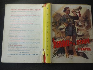 náhled knihy - Junáci na Otavě : příhody z prázdninové osady junáků