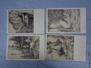 náhled knihy - Krieghilfskarte Serie 6: Aus dem Skizzenbuch eines Kriegsmalers