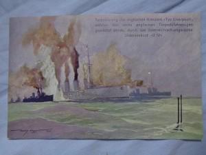 náhled knihy - Torpedierung des englischen Kreuzes Typ Liverpool, welcher von sechs englischen Torpedofahrzeugen geschützt wurde, durch das österreichisch-ungarische Unterseeboot U IV
