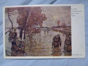 náhled knihy - Im Über-schwemmungsgebiet bei Ypern
