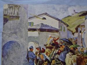 náhled knihy - Evakuierung der Ortschaft Vermiglio im Tonalegebiet im August 1915